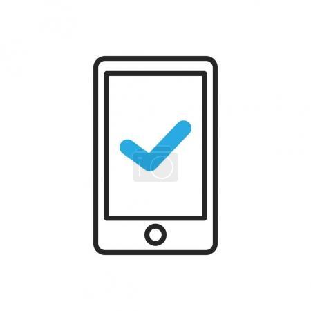 Smartphone icon. Mobile ok