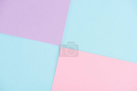 Photo for Abstract pastel colors geometrical background - Royalty Free Image