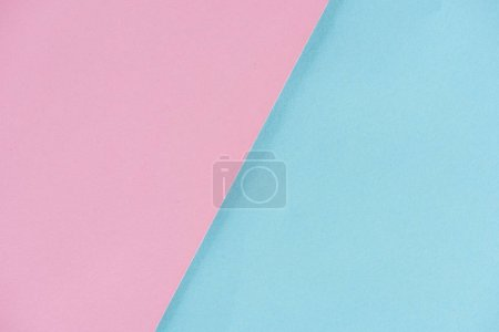 Photo for Close-up shot of pink and blue paper layers for background - Royalty Free Image