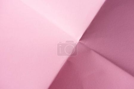 close-up shot of folded pink paper for background