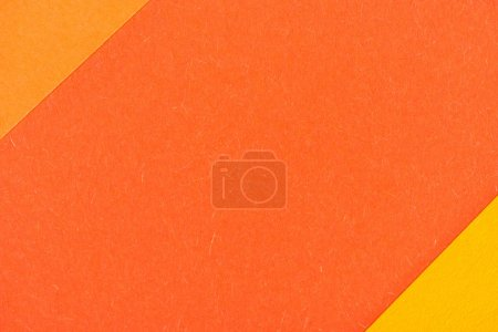 Photo for Close-up shot of orange shades layers for background - Royalty Free Image