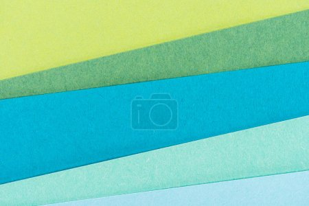 Photo for Close-up shot of colorful paper layers for background - Royalty Free Image