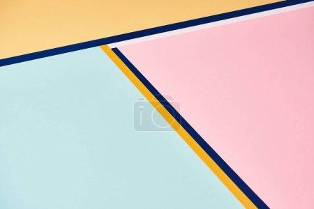 Foto de Fondo minimalista abstracto con líneas coloridas - Imagen libre de derechos