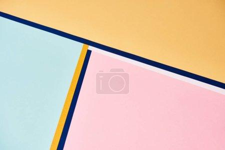 Foto de Fondos abstractos en tonos pastel con líneas coloridas. - Imagen libre de derechos