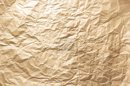 wrinkled paper as background