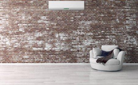 Foto de Interiores brillantes modernos 3d representación ilustración - Imagen libre de derechos