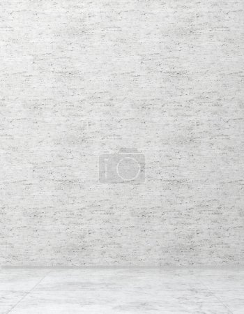 Photo pour Intérieurs lumineux modernes avec maquette cadre affiche illustration rendu 3D image générée par ordinateur - image libre de droit