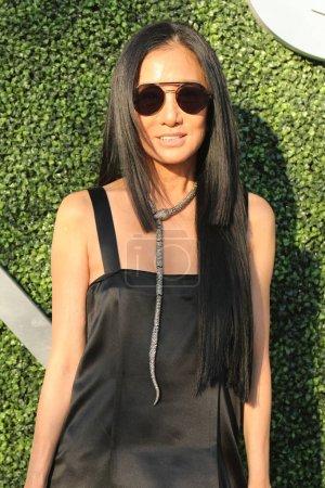 American fashion designer Vera Wang