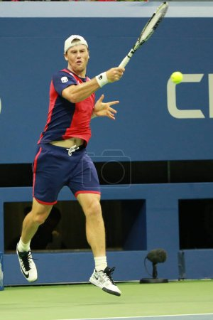 Professional tennis player Illya Marchenko