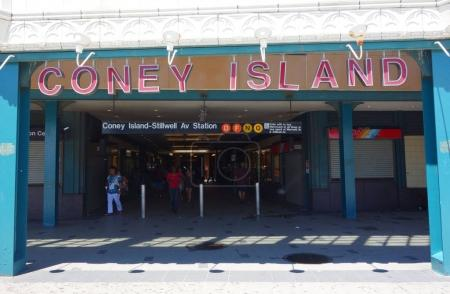 Coney Island - Stillwell Avenue subway station in Coney Island