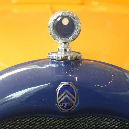Vintage Citroen logo on The