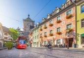 Historic town of Freiburg im Breisgau, Baden-Wurttemberg, German