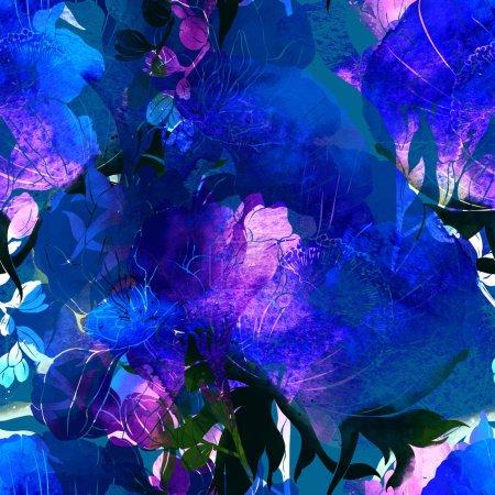 freesia and anemone flowers