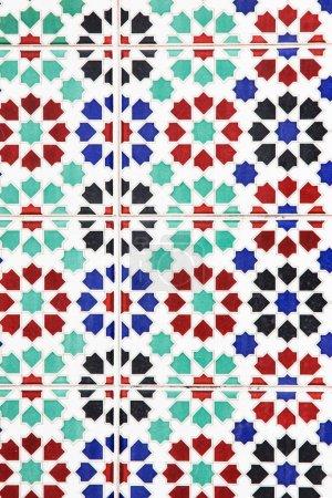 Photo pour Motif géométrique de sans soudure, conception de zelliges - image libre de droit