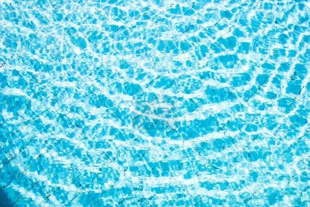 Photo for Clear transparent pool water background - Royalty Free Image