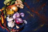 Постер крупным планом вид здоровые овощи