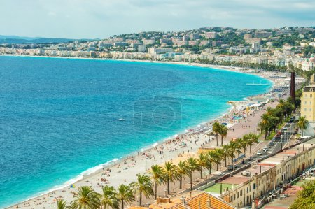 Promenade des Anglais, Nice, Cote dAzur, French riviera