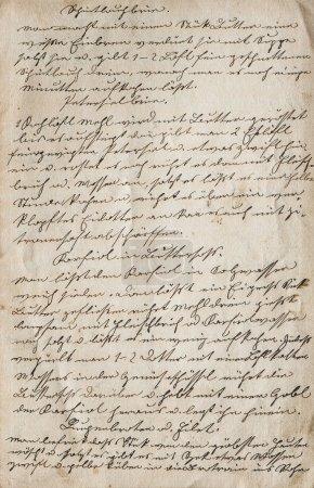 Foto de Textura de fondo de papel vintage. Texto antiguo escrito a mano - Imagen libre de derechos