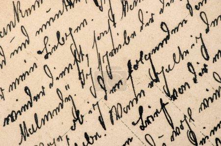 Photo pour Texte manuscrit non défini. Grunge papier vintage texture fond - image libre de droit