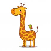 Giraffe cute illustratiom