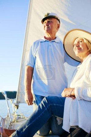 Pensioners enjoying voyage