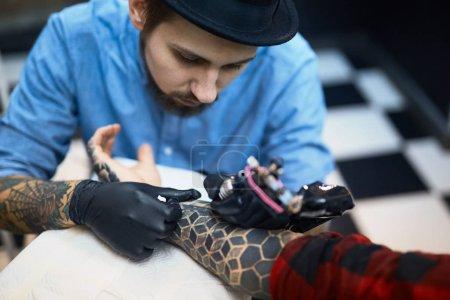 Creation of tattoo master