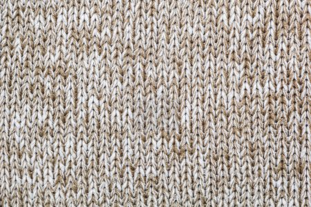 Photo for Texture of a knitted fabric of a color of a melange. - Royalty Free Image