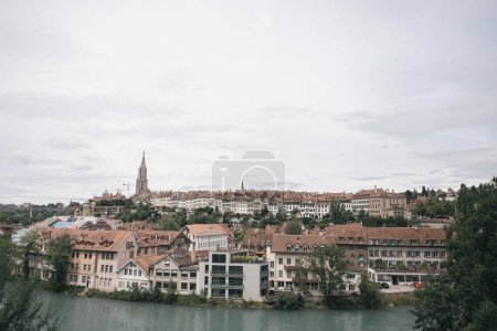Photo for Bern old town cityscape, Switzerland - Royalty Free Image