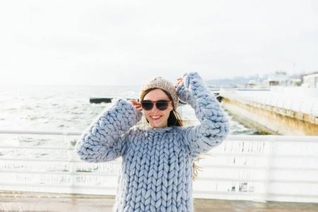 suéter de
