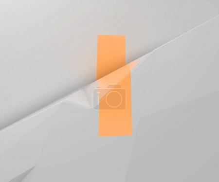 3d rendering of alphabet projected on refracted surface. Stylized broken ABC. Creative geometric typography. Stylish font on white low poly background. Polygonal letter I