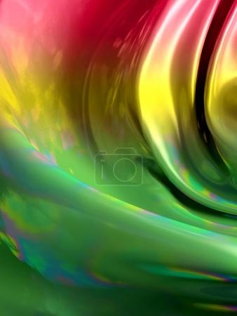 3d abstract glowing gradient fabric background