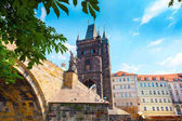 Image of Old Town Bridge Tower in Prague, Czech Republic