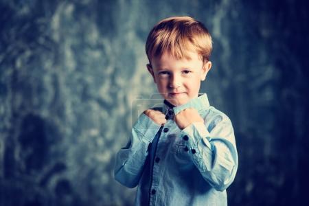 little fighter boy