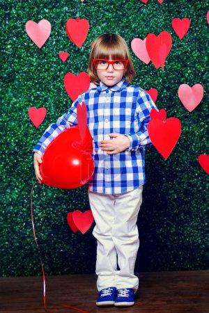 charming boy valentine