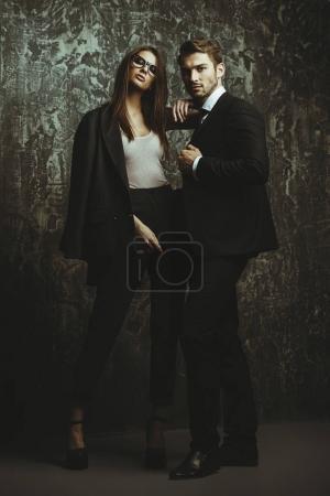 gorgeous beautiful couple