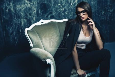 glamour young woman