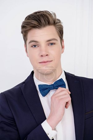 young man in bow-tie