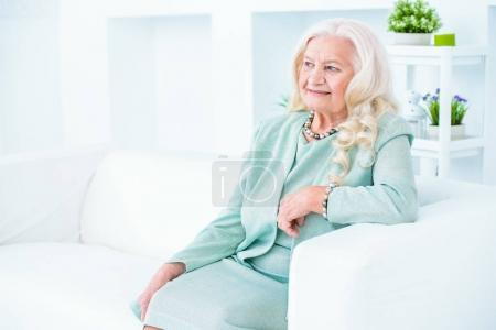 grandmother at home