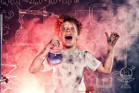 dangerous chemical experiment