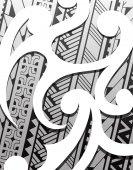Samoa ethnic ornament