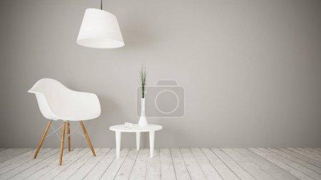 interior of minimal style living room
