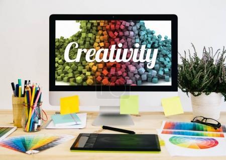 stationery desktop creativity