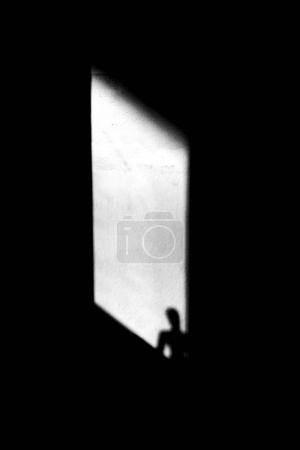 Silhouette in the window