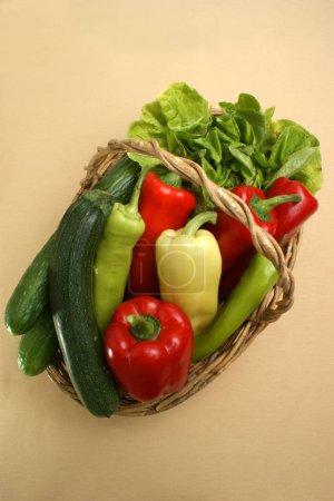 Fresh vegetables  close up shot