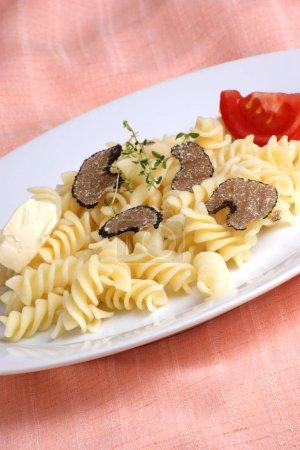 Tasty truffles close up