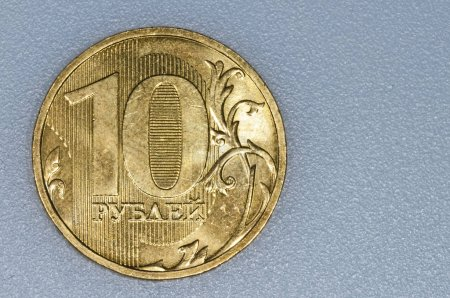 Currency Of Russia Rubel close up shot
