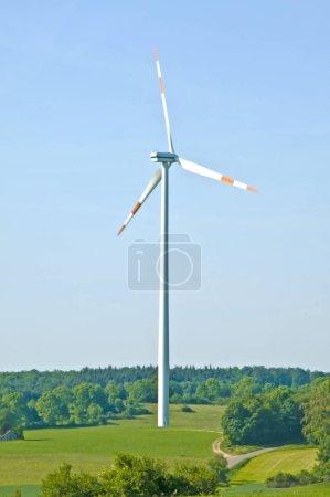 Wind Wheel In Germany. alternative energy concept