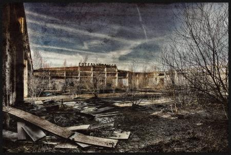 Photo pour World War 2 ancienne Base militaire pris en 2015 - image libre de droit