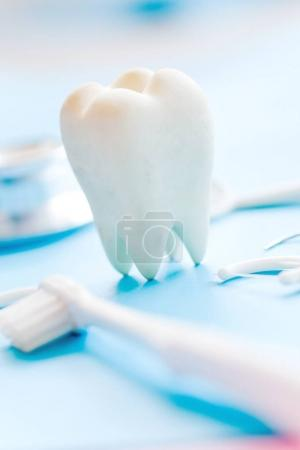 Photo pour Concept image de fond dentaire - image libre de droit