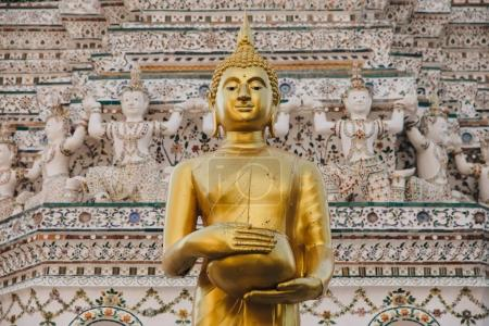 Photo for Traditional ancient buddha statue in Bangkok, Thailand - Royalty Free Image